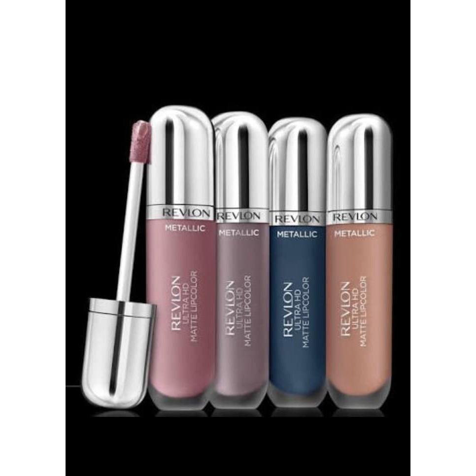 Revlon Ultra Hd Matte Lipcolor Lipstick Original100 Shopee Indonesia La Tulipe Soft Foundation 125 Gr