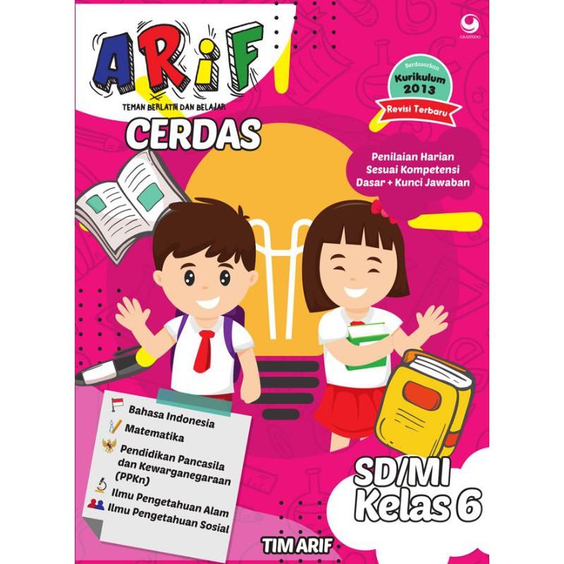 Buku Arif Cerdas Kelas 6 Sd Mi Shopee Indonesia