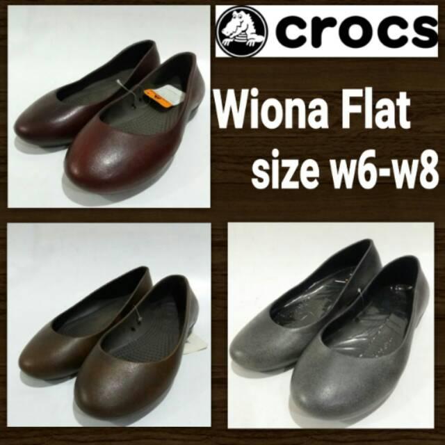 Sepatu Crocs Wiona Flat  1aa98fa0f2