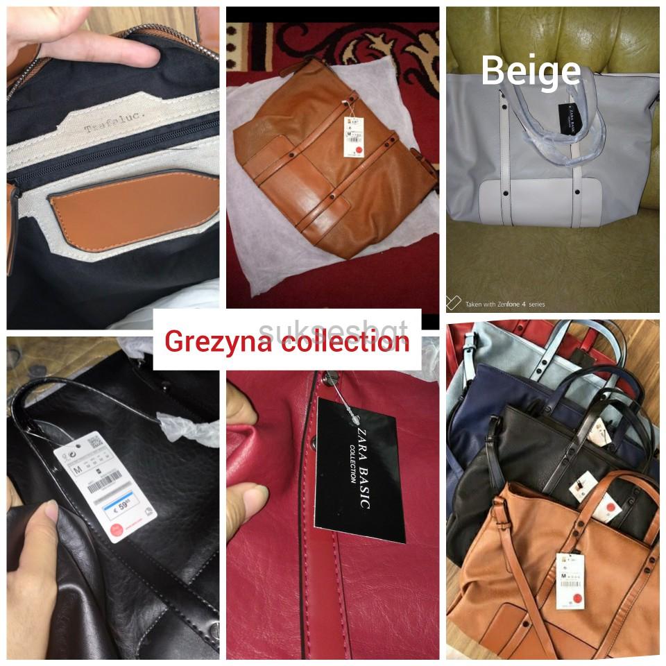 TAS WANITA import branded ZARA BASIC TRAFALUC ORI SUPLIER TANGAN 1. HARGA  PABRIK ORI FREE ONGKIR   bfc916047c