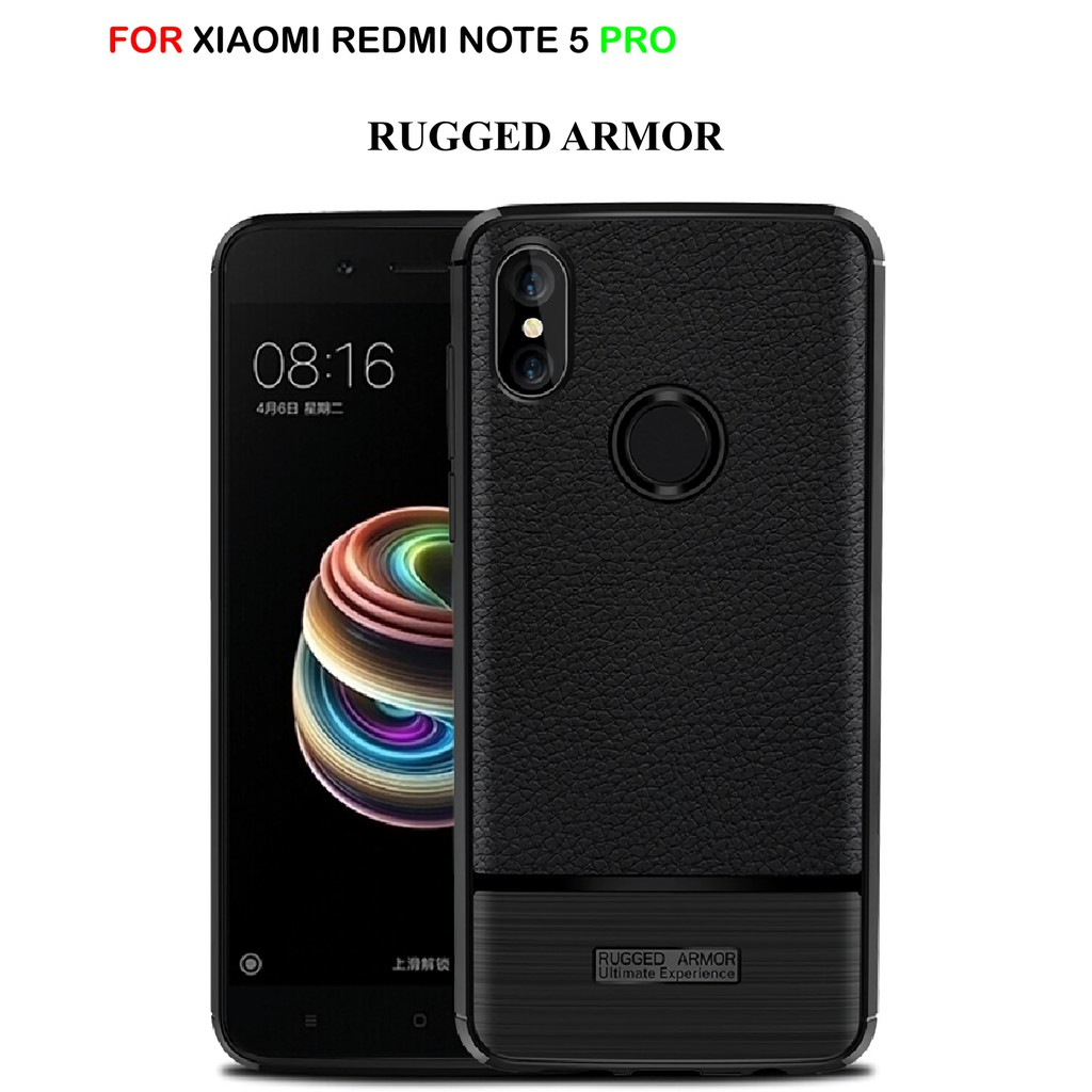 Xiaomi Redmi Note 5 Pro Dual Back Ai Camera Ipaky 360 Degree Full Case Carbon Cover Karbon Premium Casing Softcace Silikon Protection Shopee Indonesia