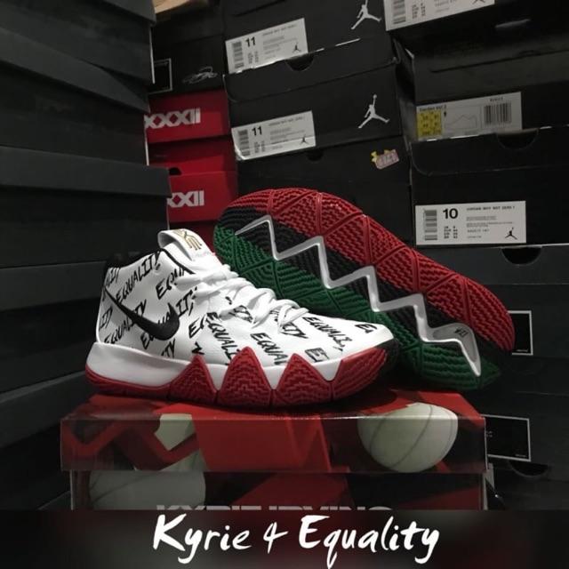 d155dbeae6a Sepatu basket nike kyrie 4 white green celtics grade original murah ...