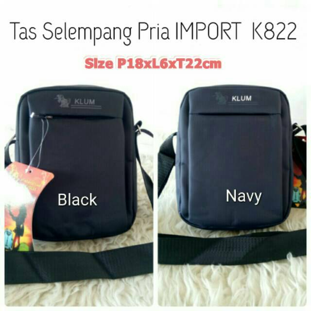 IMPORT Tas Selempang Tas Bahu Canvas High Quality SM0006 | Shopee Indonesia