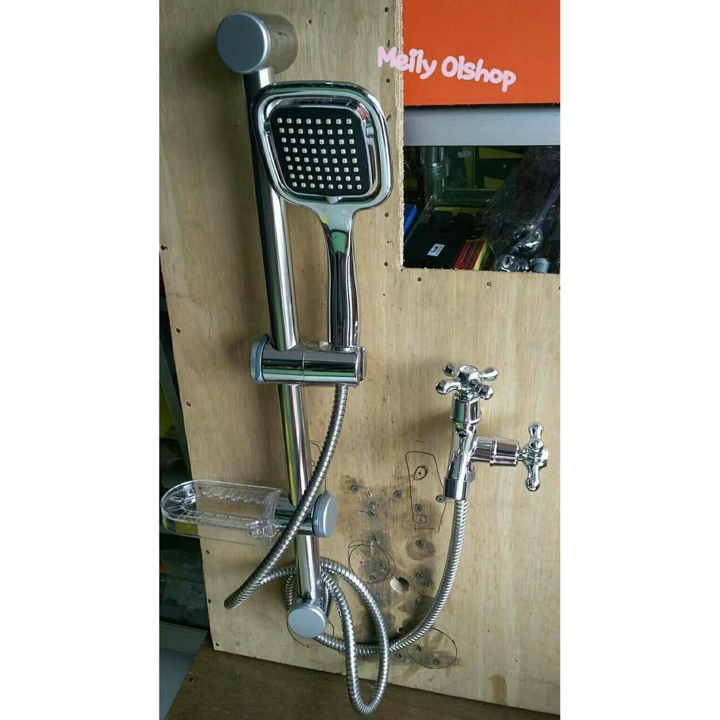 Kran Cabang Dan Shower Mandi Onda Daftar Harga Terbaru Exclusive B80007 Mixer Air Kamar