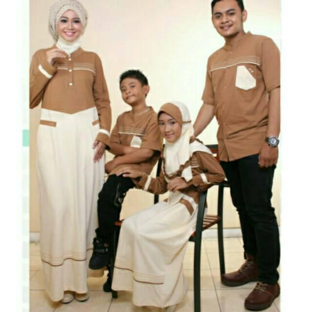 ZAFA ZAFIRA | Sarimbit keluarga Couple muslim Seragam Gamis koko ayah ibu anak modern branded murah