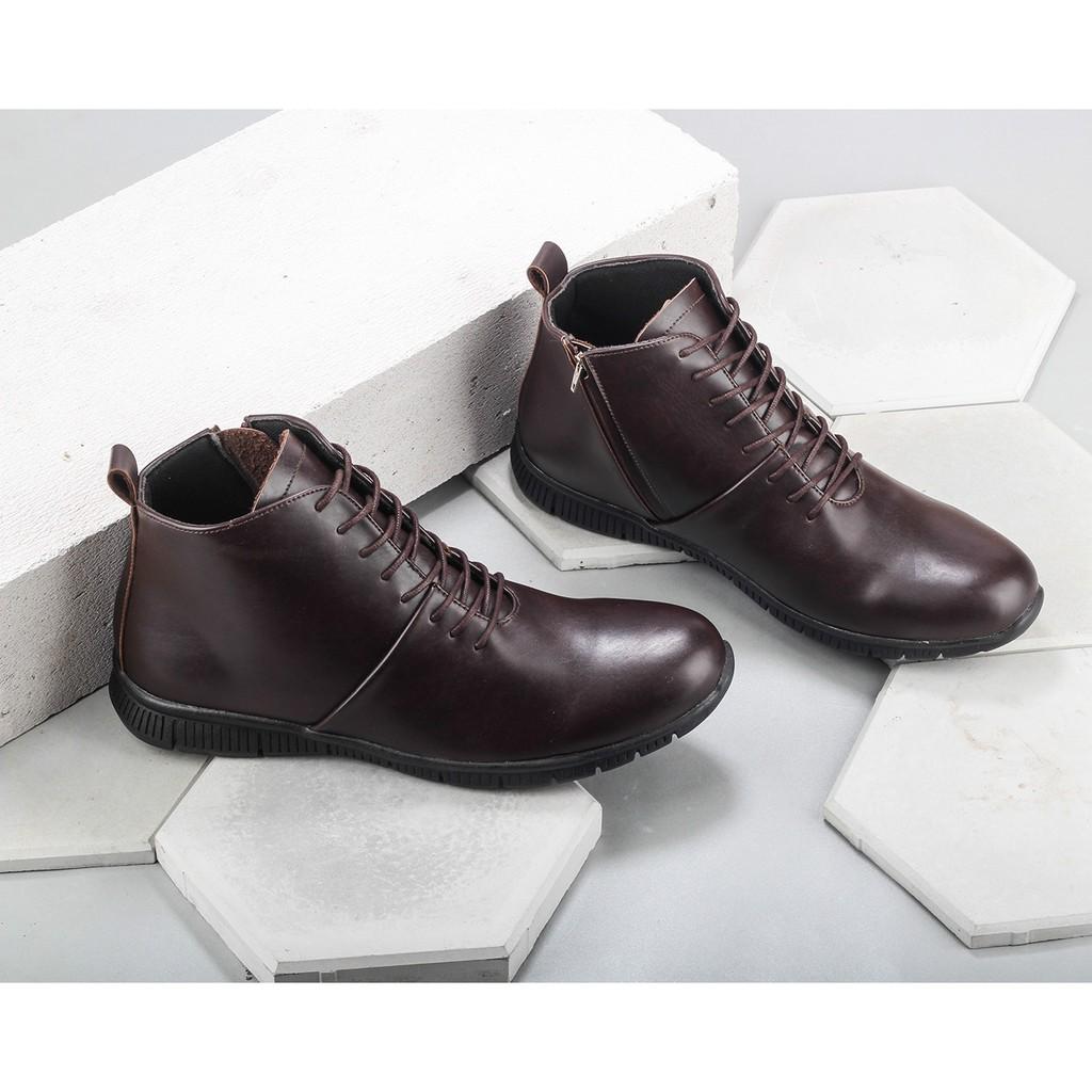 Gino Mariani Benito Exclusive Cow Leather Formal Mens Shoes Zenon 5 Casual Black Hitam 42 Shopee Indonesia