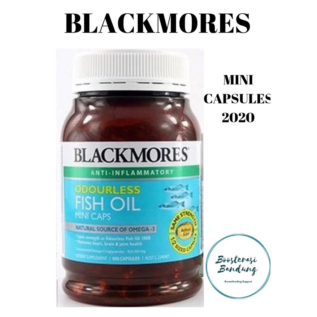 Vip Blackmores Fish Oil 1000mg 400 Kapsul Shopee Indonesia Minyak Ikan Omega 3 Black Mores Isi