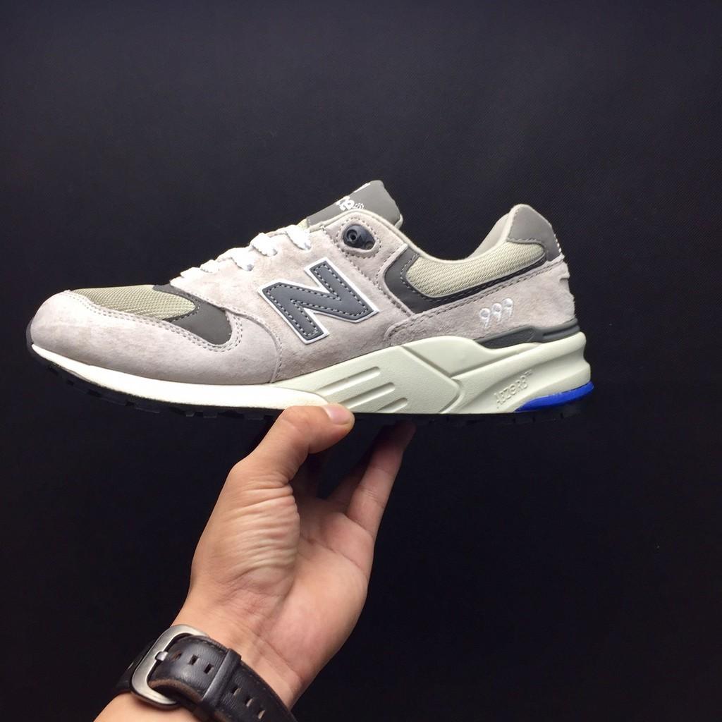 New Balance Sepatu Sneakers Lari Bahan Suede untuk Pria   Wanita ... 67d6777b91