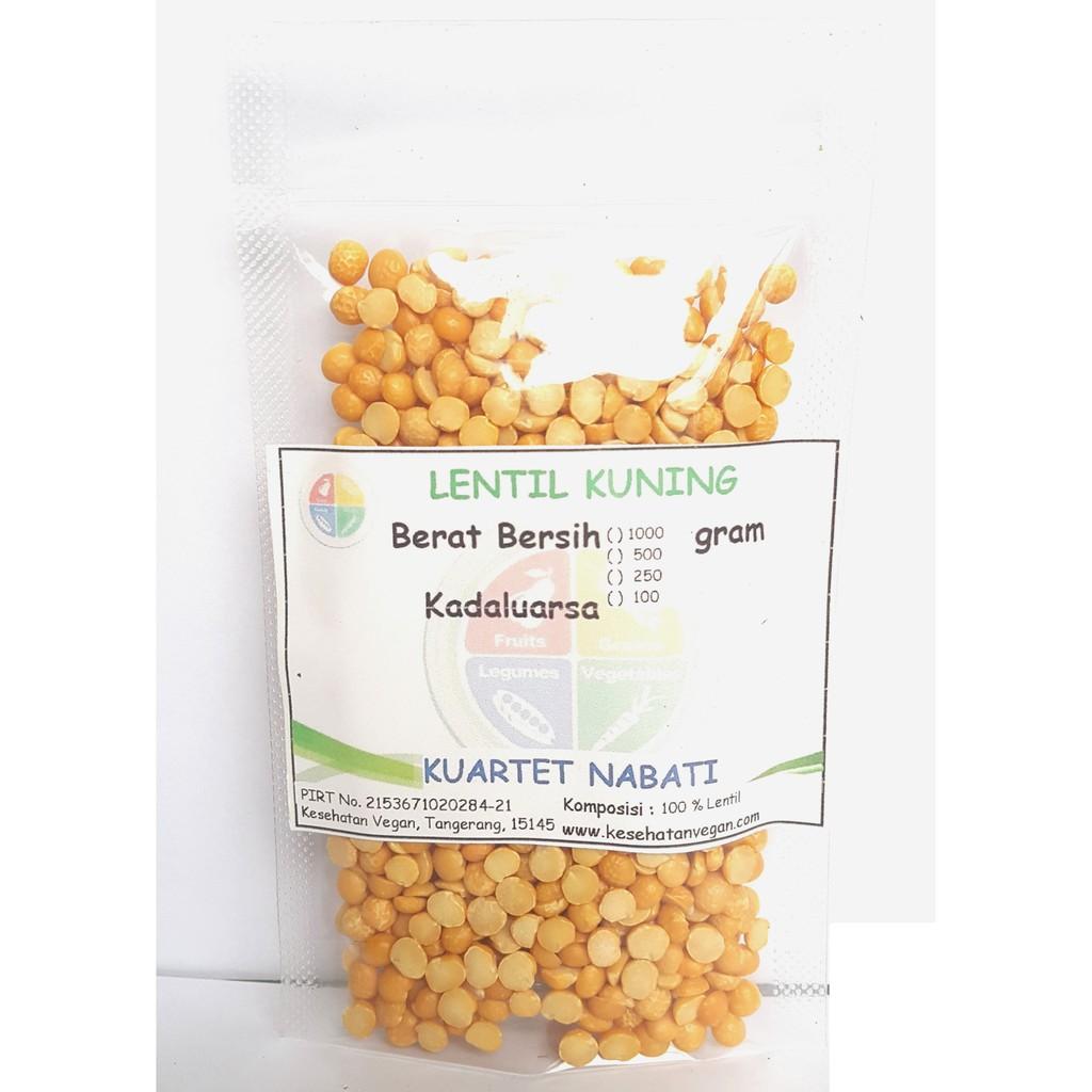 Lentil Kuning - Yellow Lentils - Premium Quality - MPASI 100 Gr | Shopee Indonesia