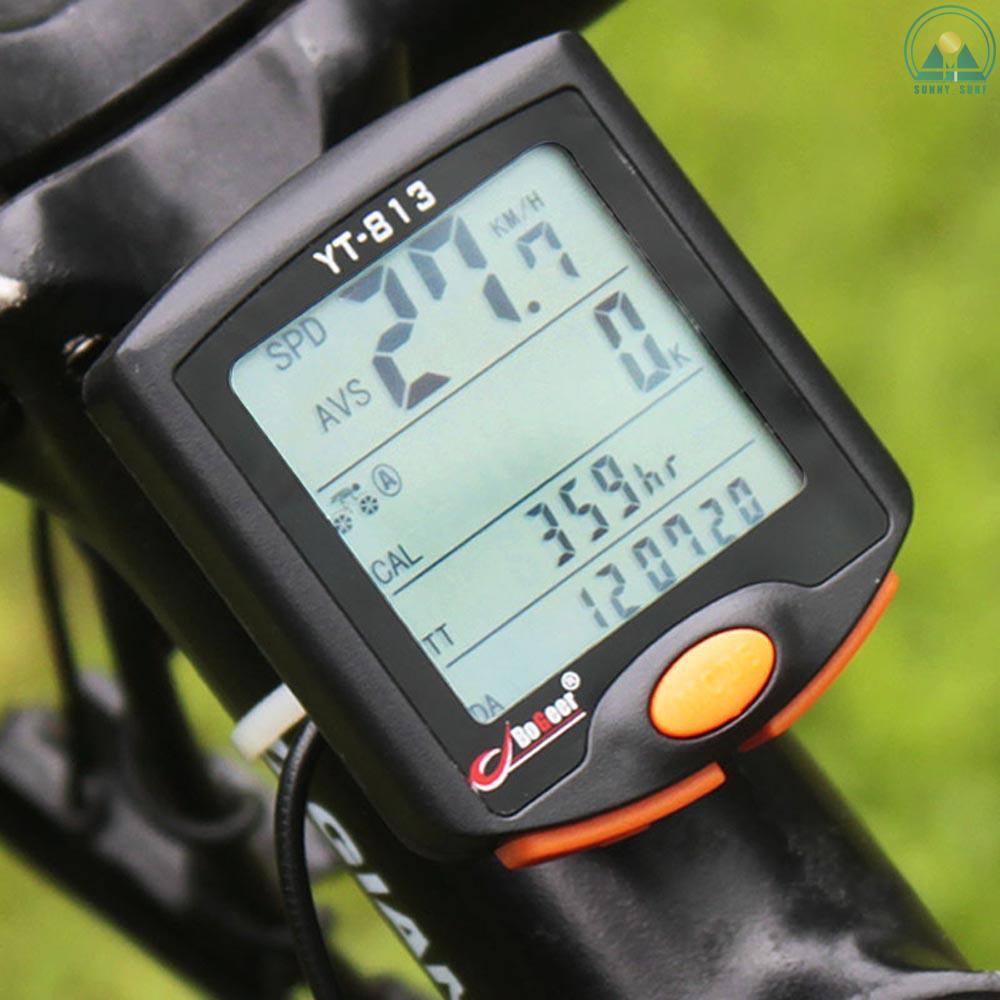 Durable Stopwatch BackLight Speedometer Odometer Bicycle Bike Waterproof