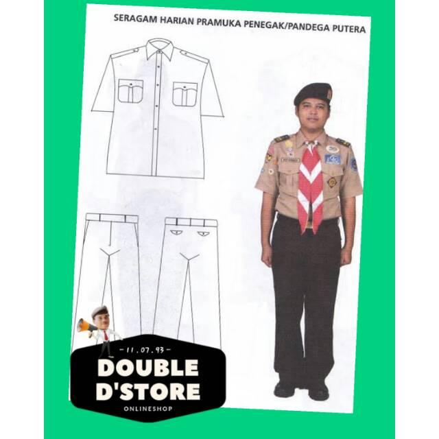 Pakaian Pramuka Lengkap Laki Laki Shopee Indonesia
