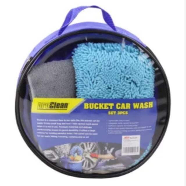 Pro Clean Car Wash >> Pro Clean Bucket Car Wash Set Ember Dan Kain Lap Microfiber 3 Pcs