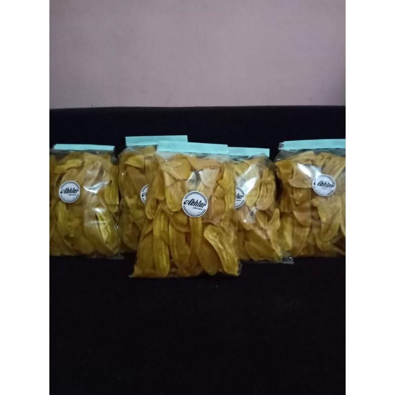 Kripik pisang (kripik lantak)