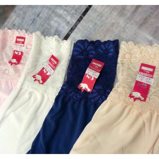 Handrok Celana Panjang Muslim Katun Kaos Renda Dalaman Gamis Underwear Shopee Indonesia