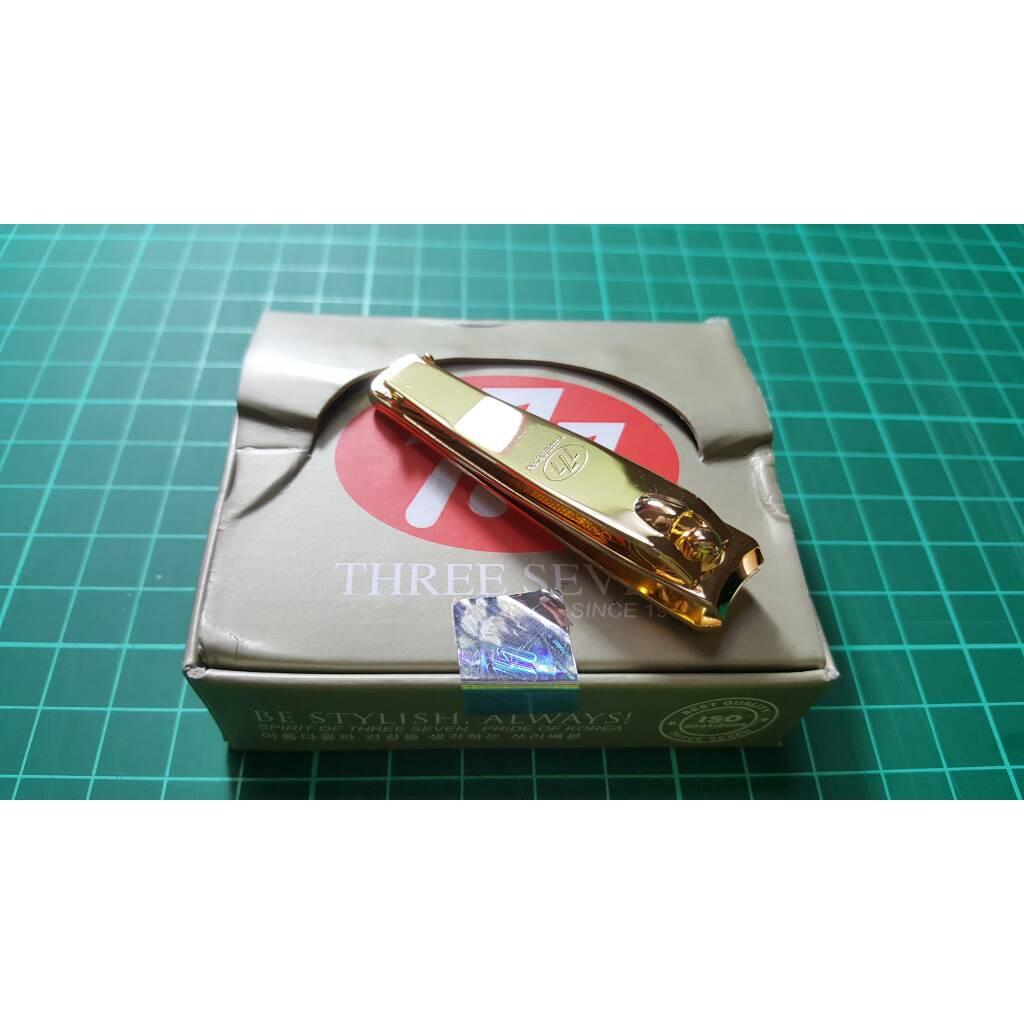 777 Gunting Kuku Original Korea Gold Kuningan Kecil N602g Besar  Nail Clipper Souvenir Shopee Indonesia