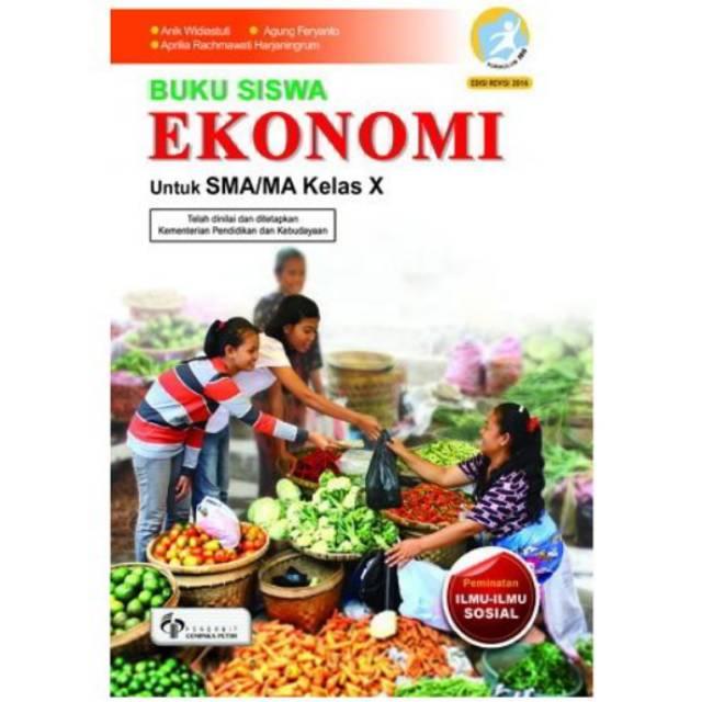 Buku Siswa Ekonomi Kelas 10 Sma Ma Shopee Indonesia