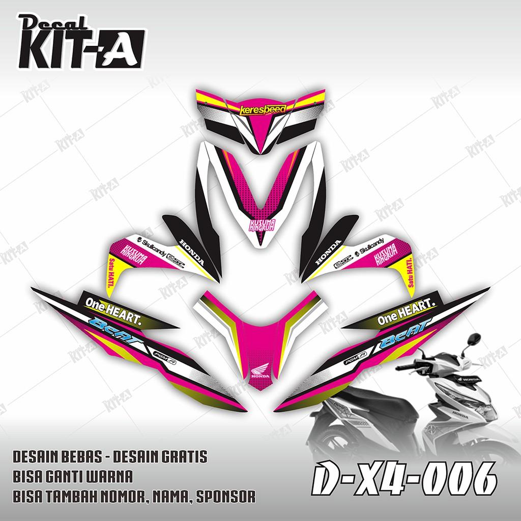 Decal stiker motor new beat street motif tribal dekal sticker striping full bodyd x4 008 shopee indonesia