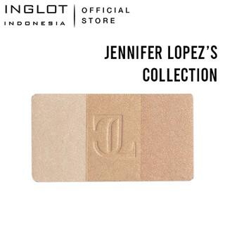 INGLOT X Jennifer Lopez Highlighter Trio Silver Dust - Champagne Natural Highlighter 5,5 gr thumbnail