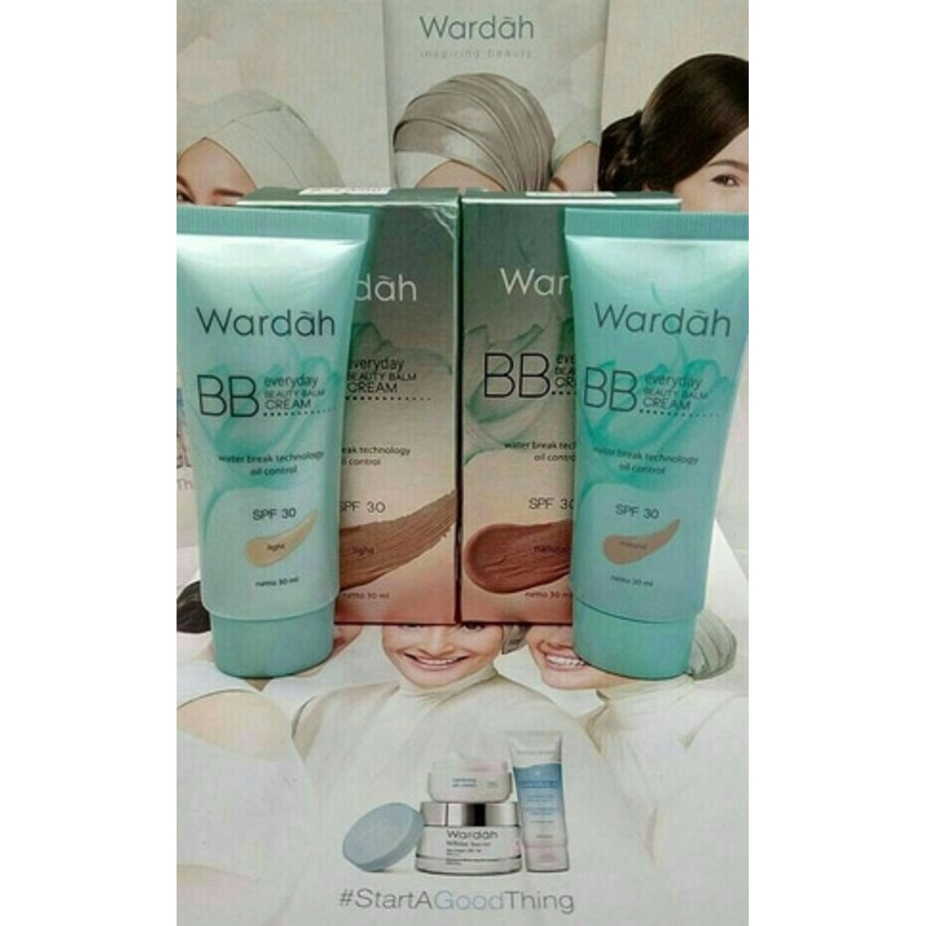 Wardah Everyday Bb Cream 15 30 Ml Shopee Indonesia 30ml