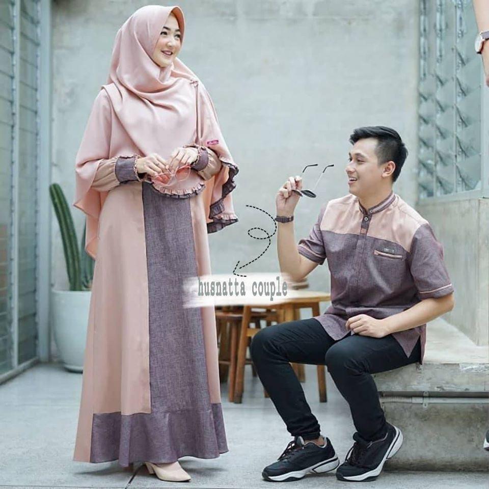 Harga Gamis Couple Terbaik Dress Muslim Fashion Muslim April 2021 Shopee Indonesia