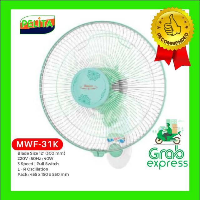 Kipas Angin Dinding - Maspion Wall Fan 31k