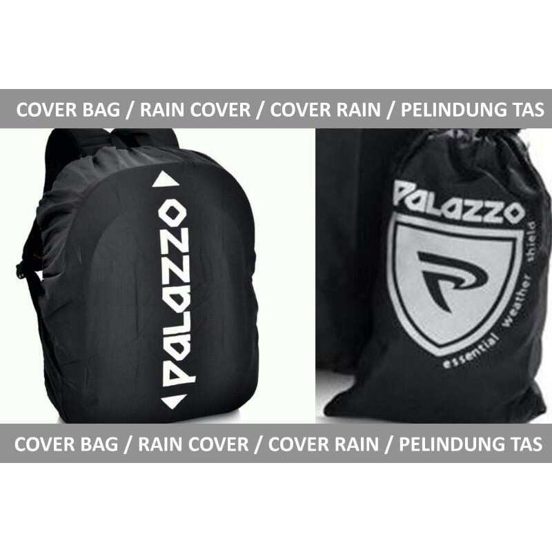 Rain Cover / Cover bag / Rain Coat / Jas Hujan Tas - transparan hitam | Shopee Indonesia