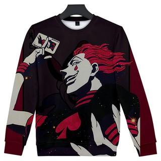 Sweater Kaos Hoodie Lengan Panjang Hip Hop Print Desain Hunter X Hunter Hisoka Death Saku 3d Untuk Pria Shopee Indonesia