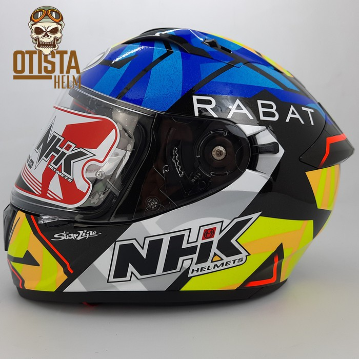 [Helm motor] Helm Full Face Nhk Gp Prime Gp Edition Tito Rabat Special Edition - M