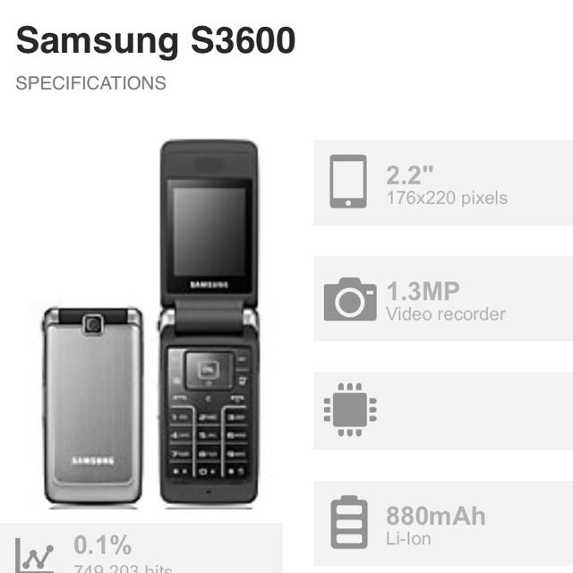 Promo Samsung S3600 Samsung Lipat Samsung Flip Handphone Samsung