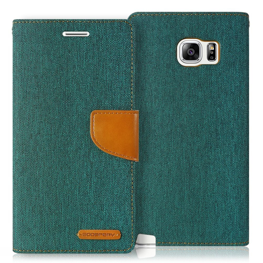 Canvas Diary Goospery Mercury Flip Cover Case Red Iphone Samsung Galaxy Grand Neo Navy V Duos Shopee Indonesia