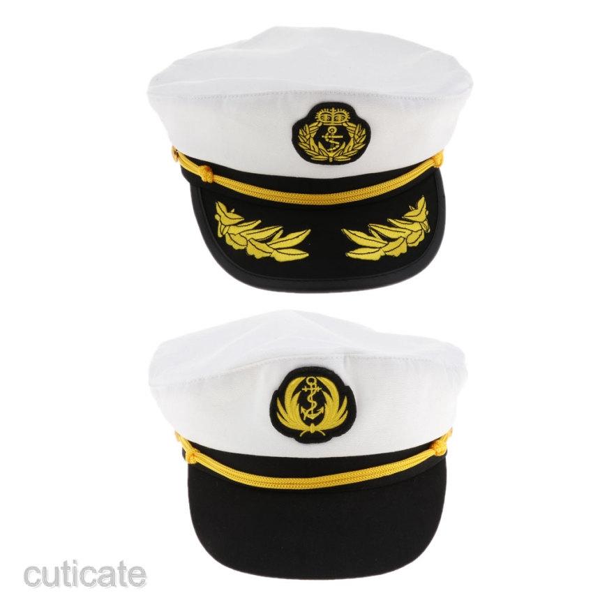 Captain Yachting Hat Cap Hat Boat Stag Party Dress Baseball Cap 100/% Cottton