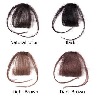 Bangs Clip hair Clip Thin Korean Cheap Korea Poni Palsu Poni Tipis Rambut Palsu Wig Tipis Korea Tidak Terlihat Tanpa Jejak 3