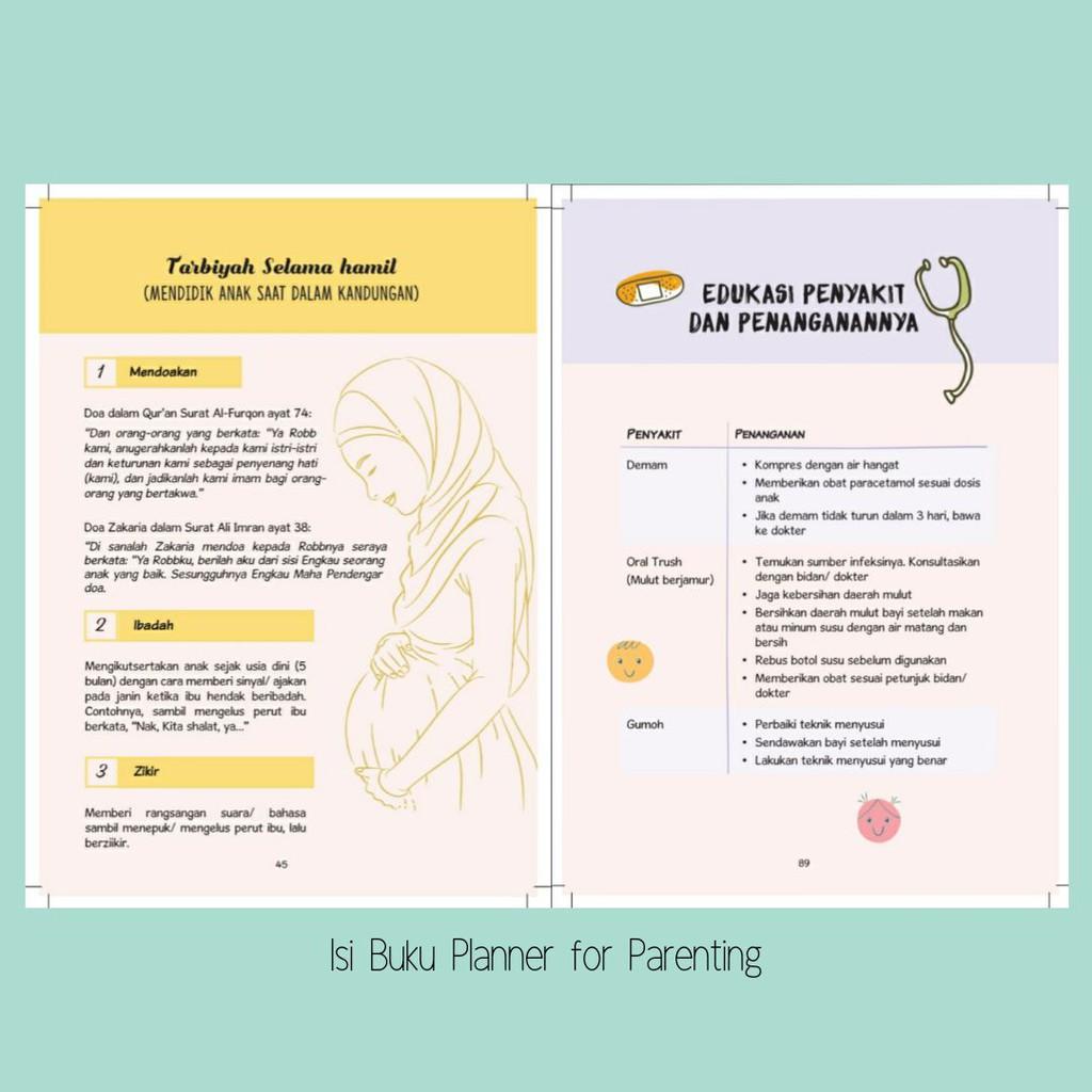 My Baby Journal Cover E Stock Ready Jurnal Kehamilan Anak Muslim