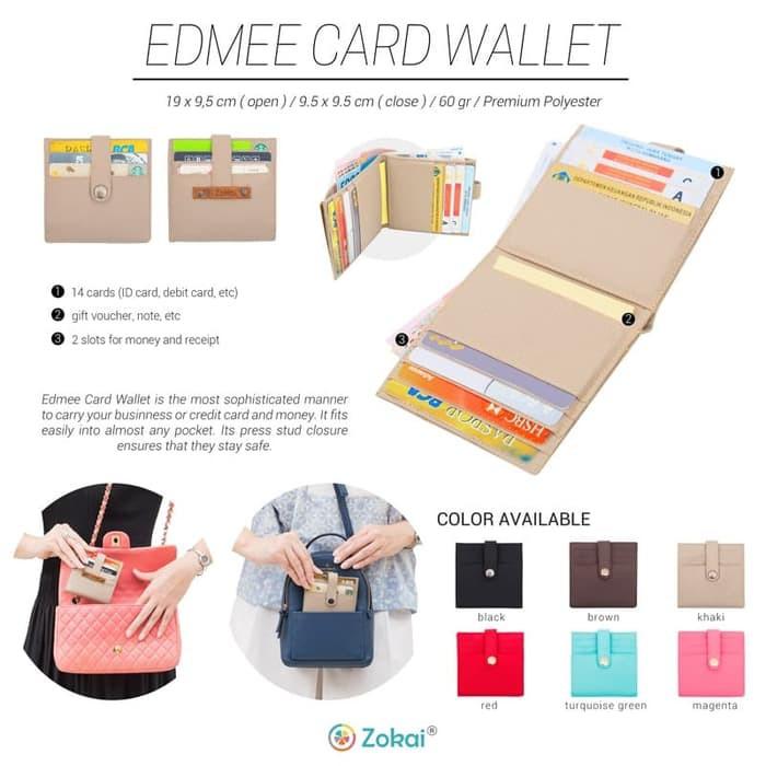 EDMEE card wallet / dompet kartu .