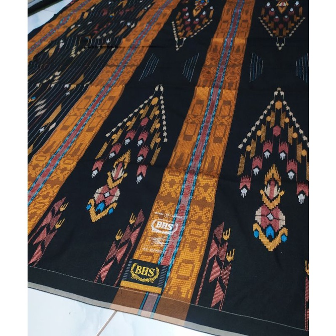 sarung bhs sge scond gold full sutra spesial hitam limited edition
