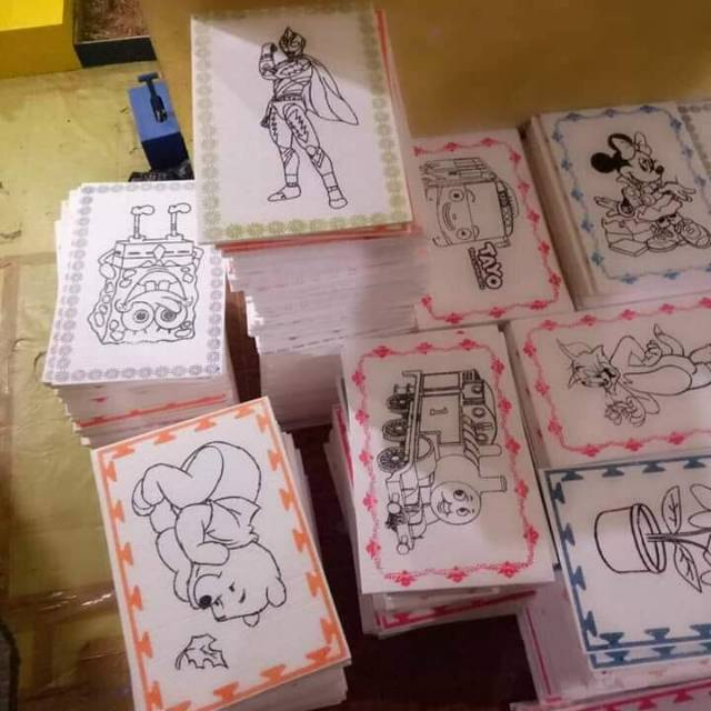 Styrofoam Gabus Mewarnai Gambar Shopee Indonesia