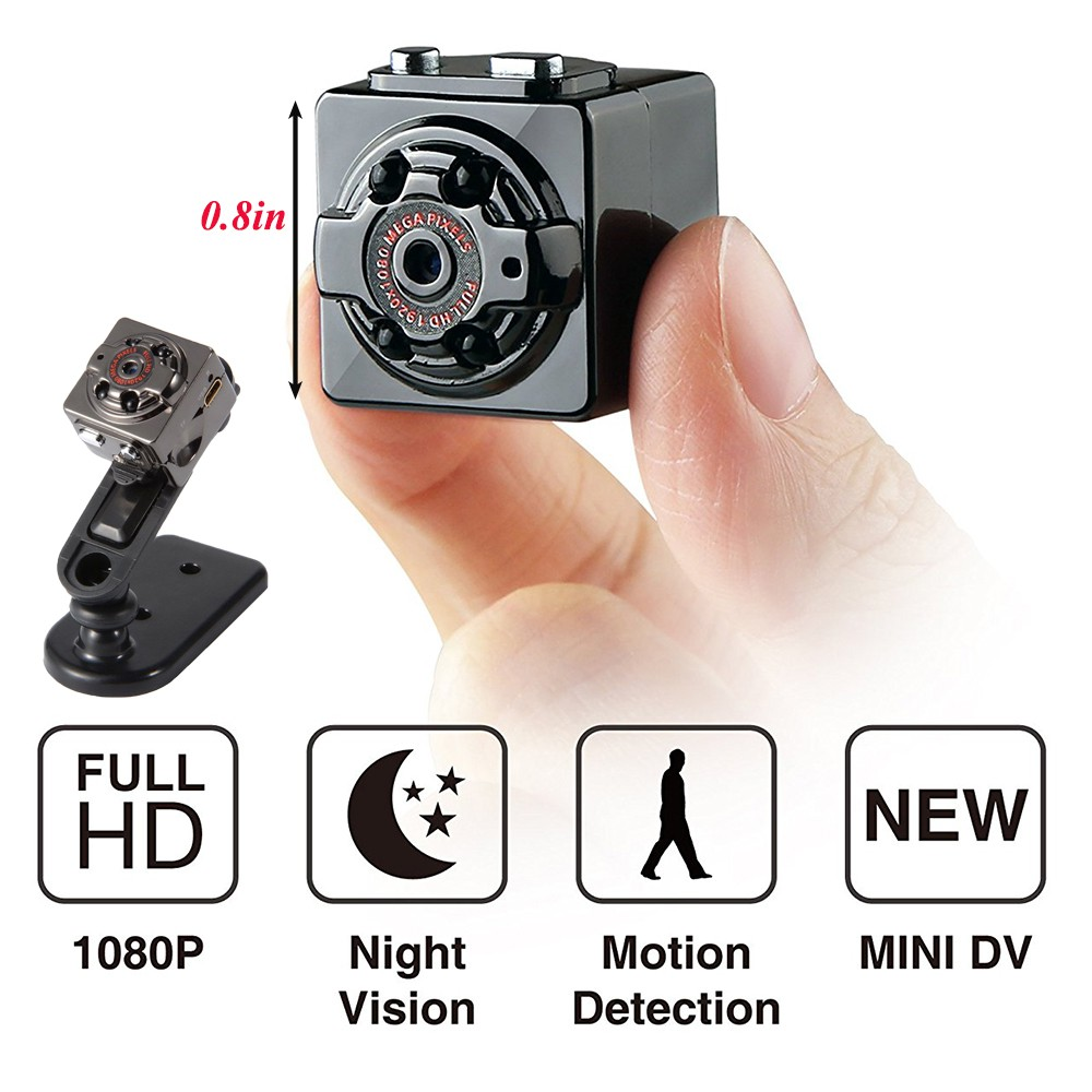 Mini 1080P Spy Camera Motion Detection Hidden DV DVR Nanny Cam IR Night Vision L