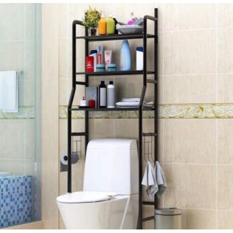 Rak Toilet Organizer WC Tissue Sabun Kloset Kamar Mandi/ rak serbaguna/ toilet rak /