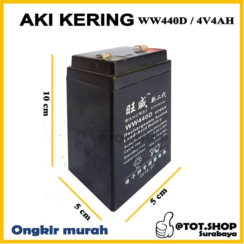 Lead Acid Battery >> Aki Kering Baterai Timbangan Vrla 4v 4ah Digital Lampu Accu Battery Anak Emergency Lamp Lead Acid