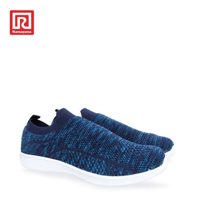 Ramayana - LOGGO - Sepatu Sport Vinto Biru Tua Hitam  08d8c62d71