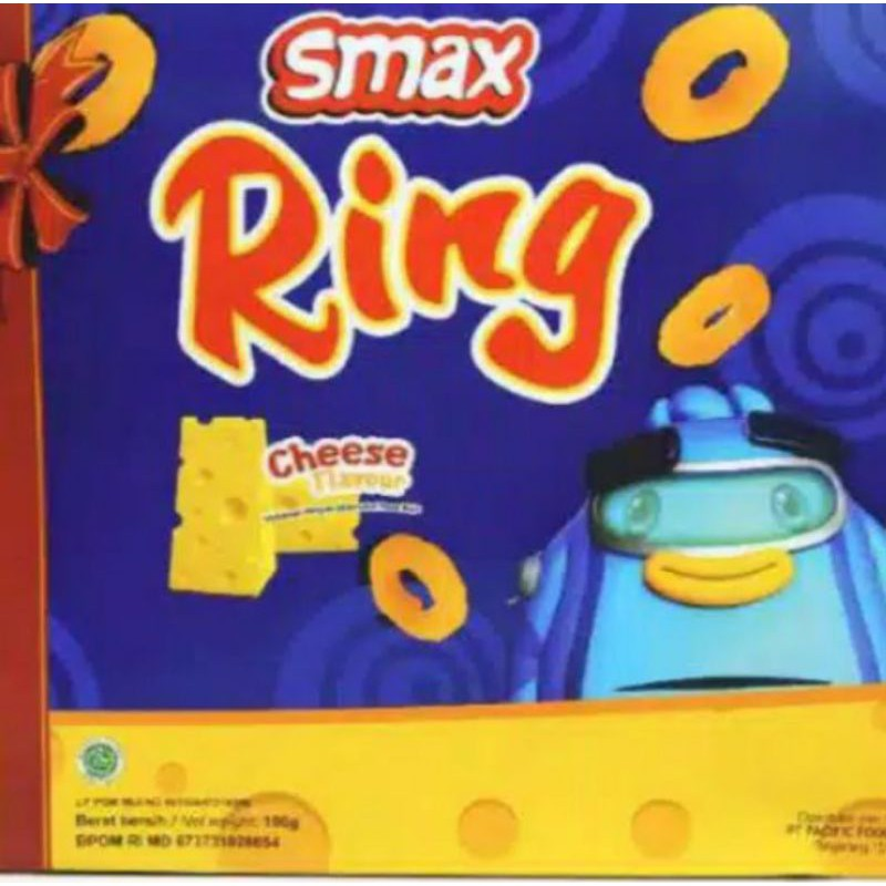 snack smax ring box 200gr