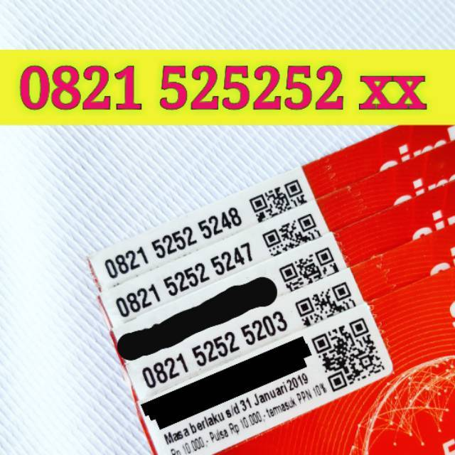 Nomor Cantik AS 4G LTE Telkomsel Mewah LIMITED EDITION Nocan Kartu Perdana Nomer TAHUN LAHIR AABB