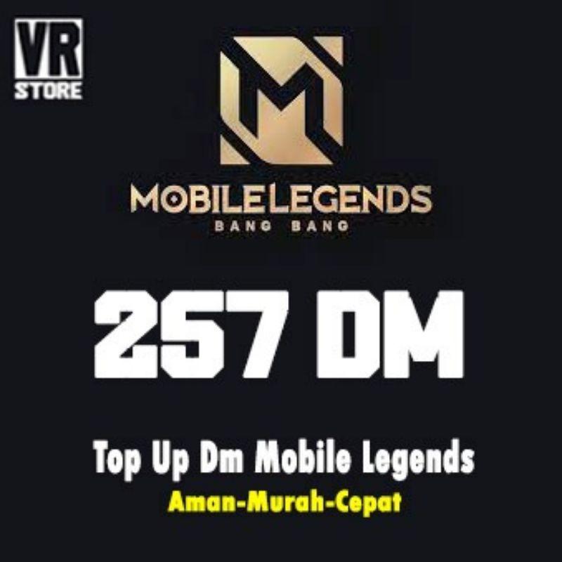 Diamond Mobile Legends - 257 DM MLBB