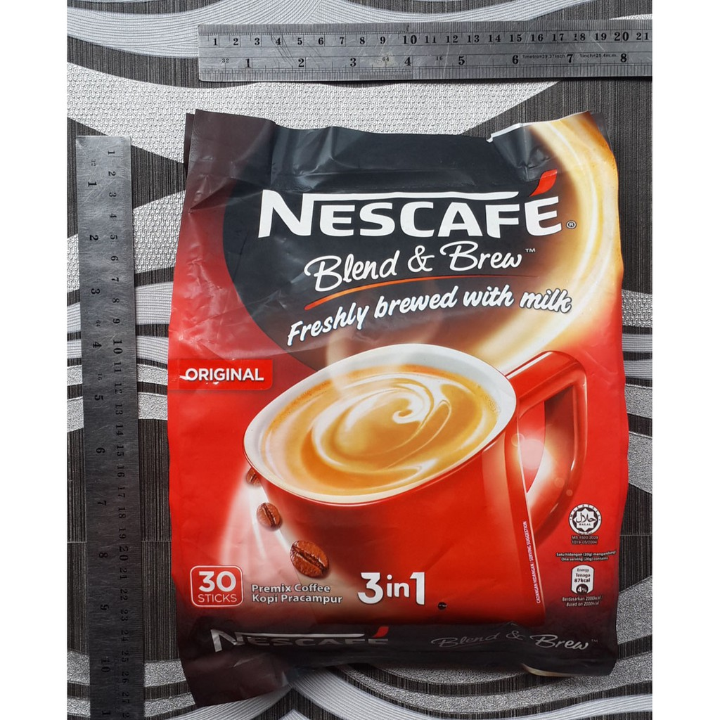 Nescafe Uht Package 6 Pcs Free Red Pouch Shopee Indonesia Bear Brand Milk White Tea Minuman