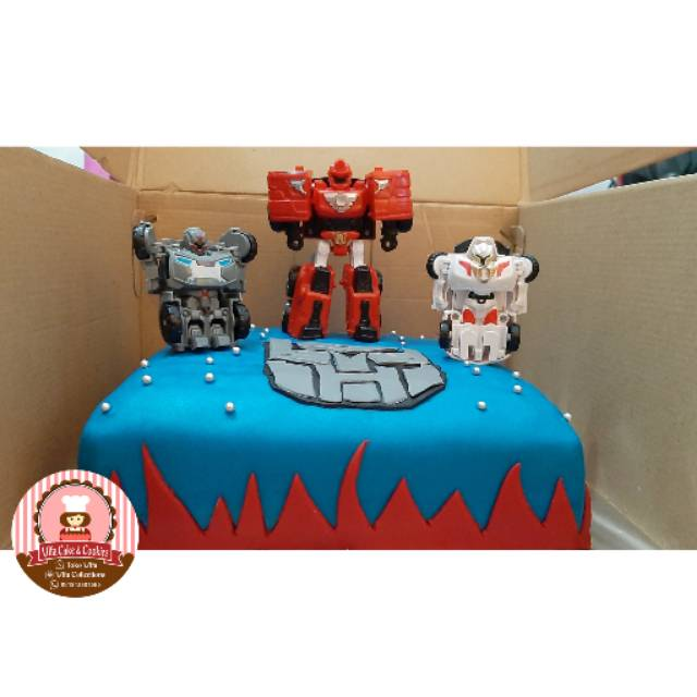 Birthday Cake Transformers Kue Ulang Tahun Karakter Anak