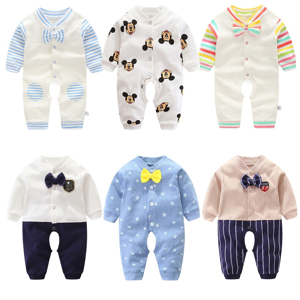 91150e293 Baby Clothing BABY ROMPER LONG SLEEVE Jumpsuit Newborn 0-24month | Shopee  Indonesia
