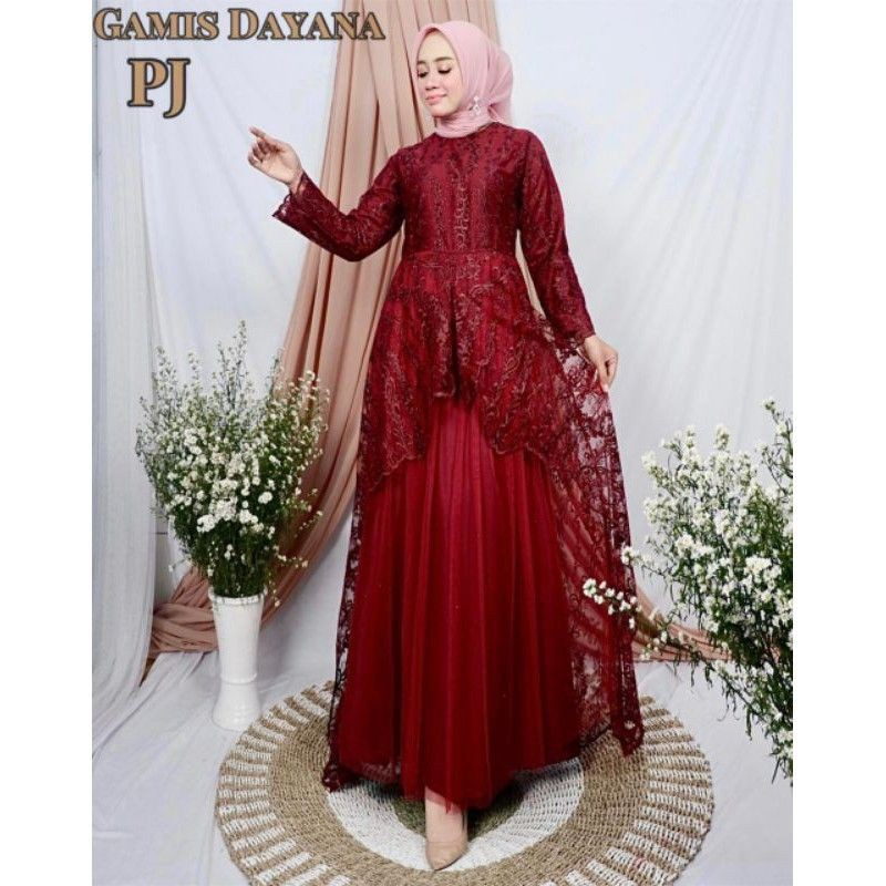 GAMIS MODERN ORIGINAL - DAYANA DRESS by Pelangi Jaya