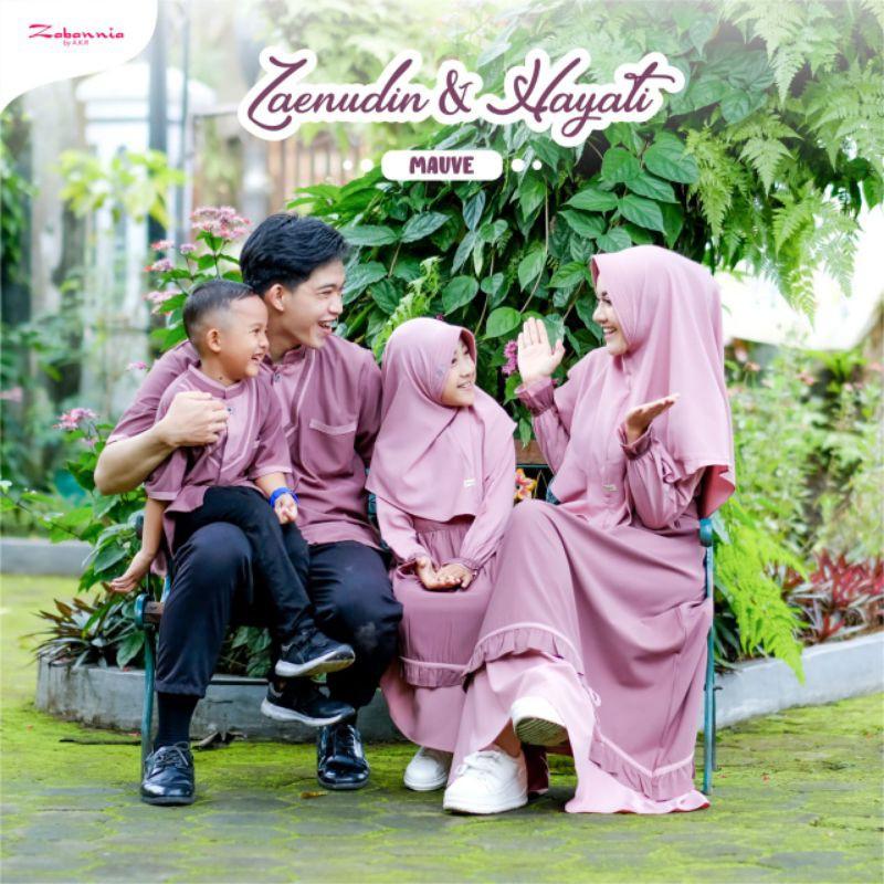 Zaenudin & Hayati series family set by @zabannia_pusat/sarimbit lebaran 2021
