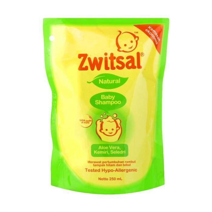 Zwitsal Natural Baby Shampoo Aloe Vera Kemiri dan Seledri-1
