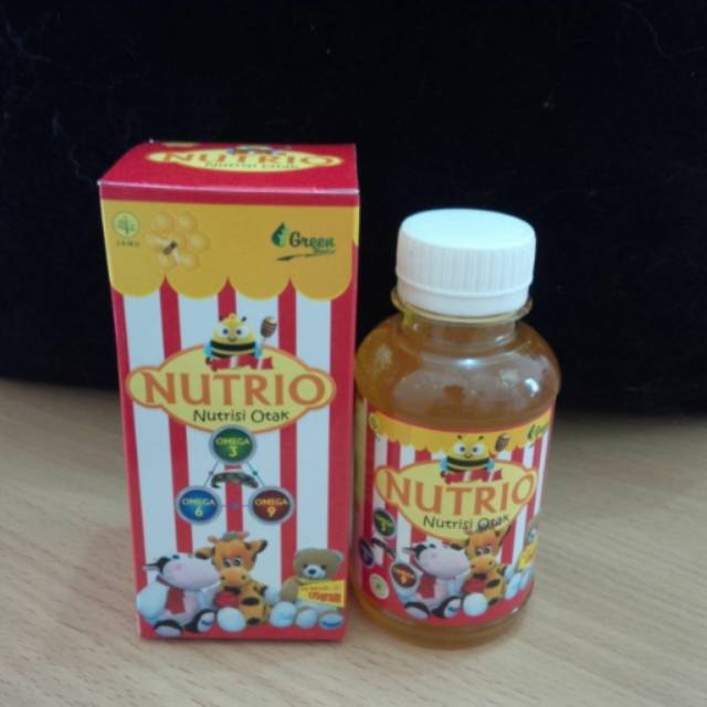 NUTRIO Nutrisi Otak | Omega 3 | Omega 6 | Omega 9